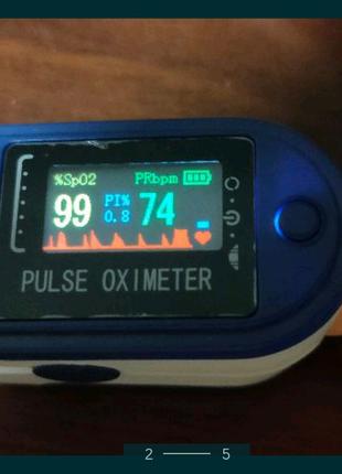 Пульсоксиметр, вимірювання кисню в крові, новий. Оригінальні.