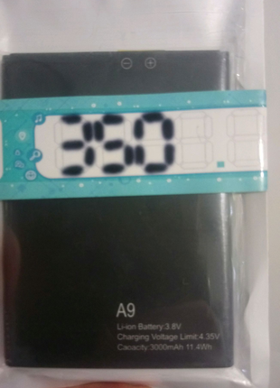 Аккумулятор Blackview A9, Original, 3000mAh