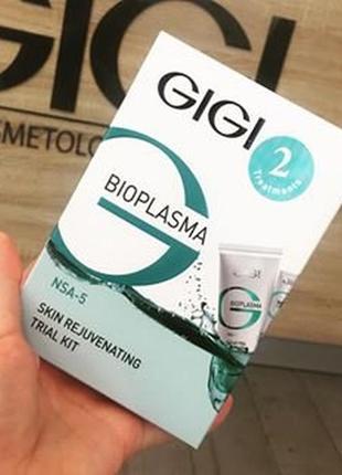 Набор омолаживающий gigi cosmetic labs bioplasma skin rejuvena...