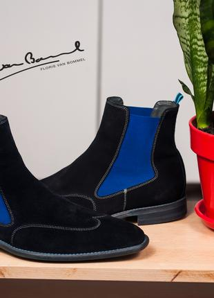 Челси Floris van Bommel, Голландия 43р мужские ботинки челси кожа
