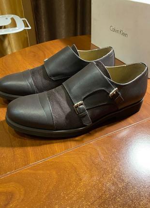 Туфли монки Calvin Klein