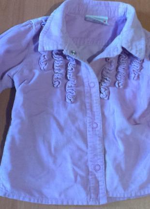 """Блузка в фиолетовом цвете""""NEXT"""" 12-18 мес."""