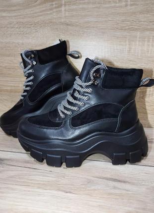 Демисезонные ботинки 🌿  тракторная подошва осенние деми весна ...