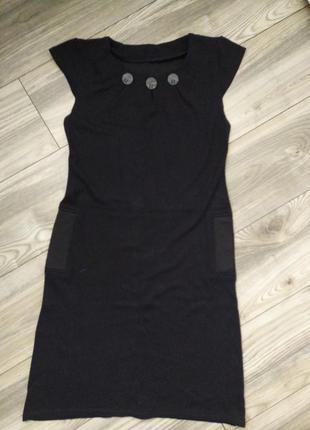 Черный универсальный сарафан,платье