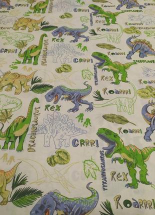 Постільна білизна динозаври в наявності