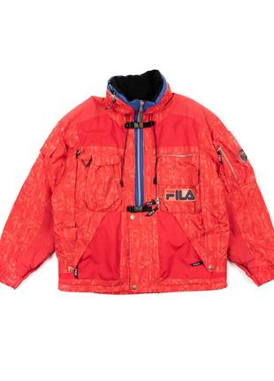 Vintage fila куртка кенгурушка jmh010104