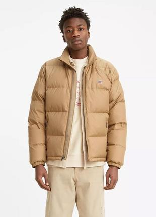 Пуховик levis down fillmore puffer jacket, размер m