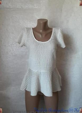Фирменная dorothy perkins кружевная кофта/блуза баска с мягкой...