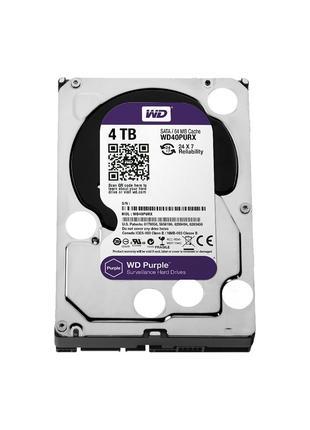 Жесткий диск память WD Purple WD40PURX 4 tb 4тб