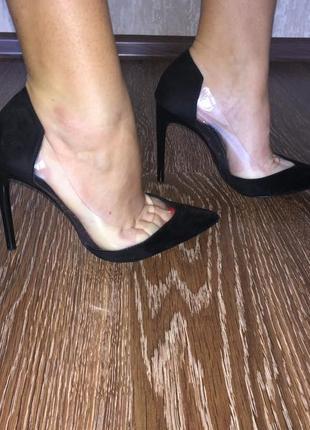 Туфлі від zara basic