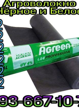 Агроволокно Agreen/белое и чёрное/Италия/Оптовый склад!