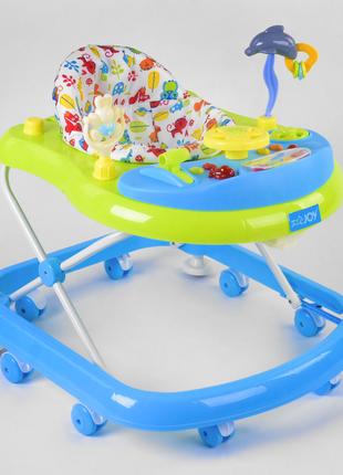 Дитячі ходунки з ігровою музичною панеллю JOY  TS-06122, світло