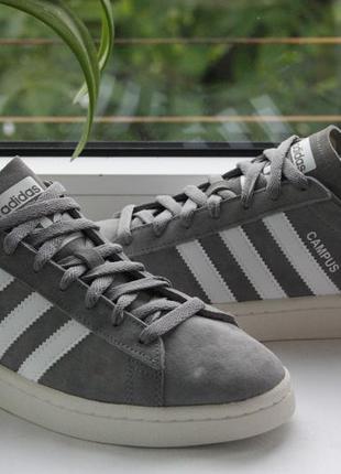 Кроссовки adidas originals campus trainers in grey eqt support...