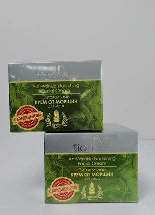 Питательный крем от морщин с матирующим эффектом tibetan herbs