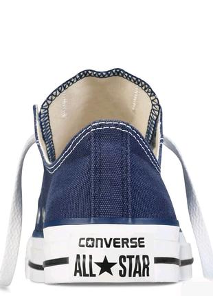 Низкие синие кеды женские / мужские  Converse