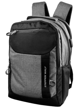 Городской рюкзак eterno. мужской рюкзак дорожный. сумка мужска...