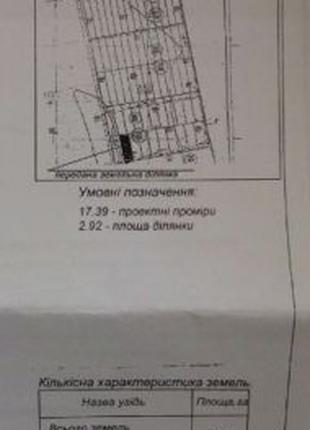 Земельный участок 2,92 Га с. Кагарлык Беляевский р-н Одесская ...