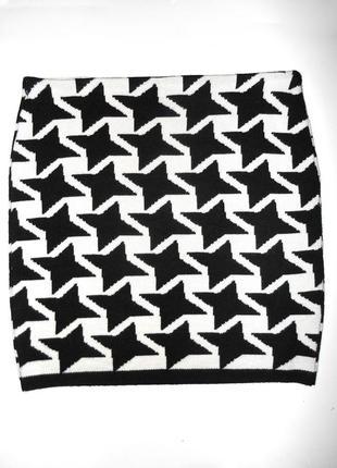 Теплая юбка 30проц шерсть гусиная лапка