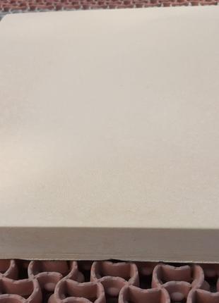 Копинговый камень 40х50х3.5 см Плоский Бежевый