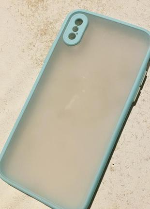 Матовый чехол iphone x