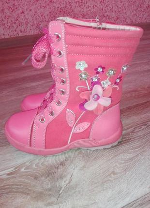 Детские демисезонные ботинки, сапожки