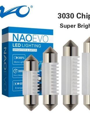 NAOEVO C5W C10W светодиодные LED лампы в салон подсветку номер...