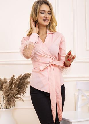 Блуза женская цвет Персиковый