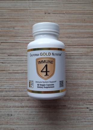 California Gold Nutrition, укрепление иммунитета, 60 капсул, США