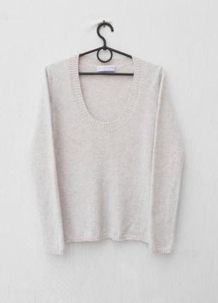 Осенний зимний кашемировый свитер с длинным рукавом 🌿