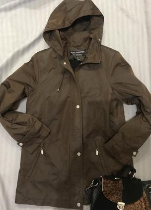 Мега функциональная куртка парка деми на подстежке