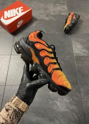 Nike vapormax tn yellow orange