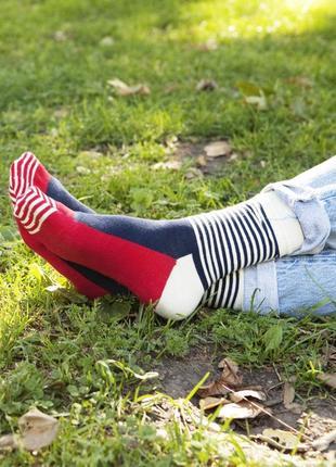 Модные женские носки happy socks