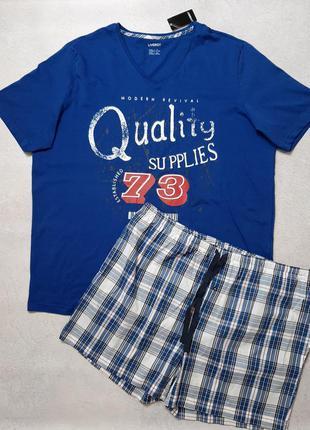 Мужская пижама шорты , футболка одежда для дома
