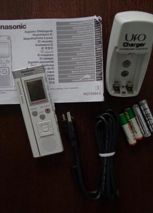 Продам диктофон Panasonic RR-US510 + комплект