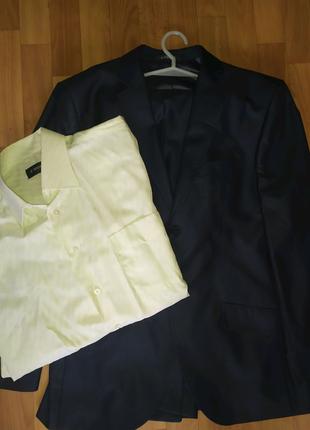 Чоловічий костюм + сорочка
