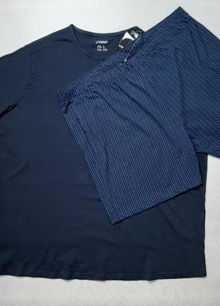 Мужская пижама шорты , футболка. одежда для дома и сна