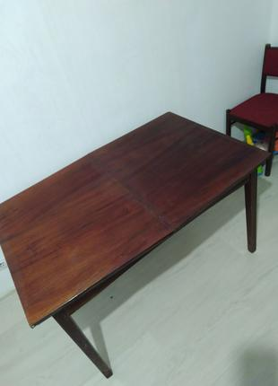 Стол обеденный. стол лаковый. стол ссср. Чернигов