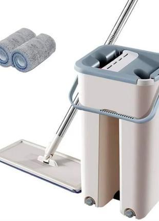 Швабра и ведро Scratch Cleaning Mop маленькое с системой отжима
