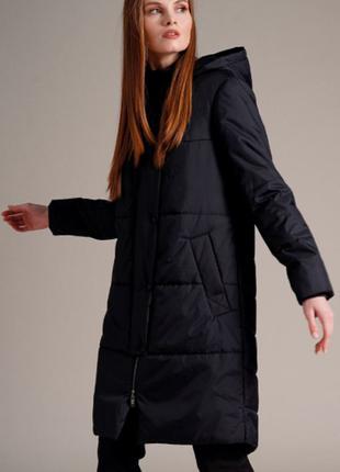 Burvin Пальто 7574 черное
