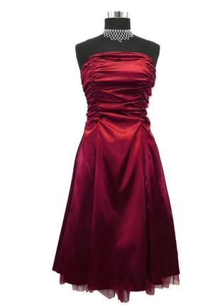 Платье juju&christine бордо марсала бургунди вамп корсет вечер...