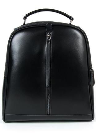 Женский кожаный рюкзак портфель жіночий шкіряний