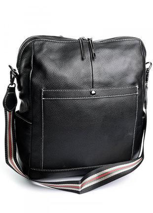 Женский кожаный рюкзак жіночий шкіряний портфель