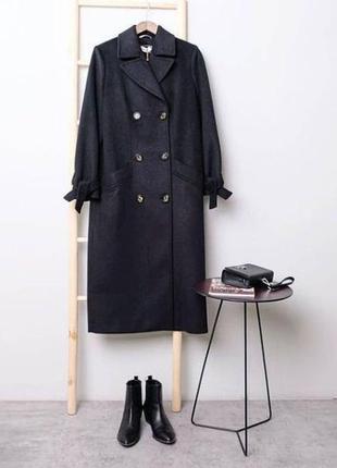 Burvin пальто 7639 черный