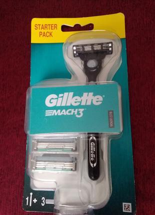 Бритвенный станок Gillette mach 3