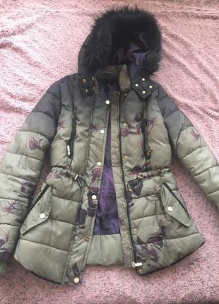 Курточка осень-весна цвета Хаки