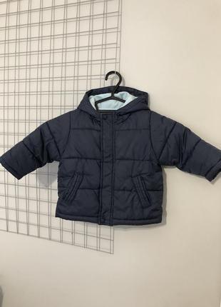 Тепла куртка парка зимова зимняя куртка для ребёнка