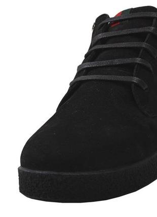 Ботинки мужские на меху,  zumer  нубук, зима 2020