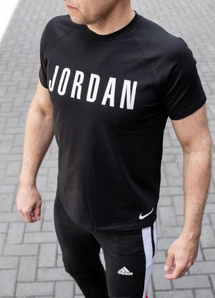 Футболка мужская nike jordan черная / футболка чоловіча nike j...