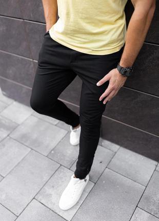 Спортивные штаны мужские тонкие или утепленные манжет / спорти...