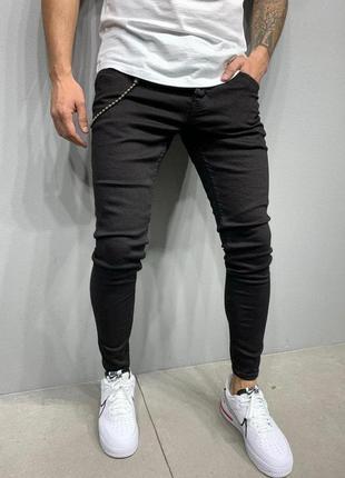 Джинсы мужские скинни / джинси чоловічі скінні